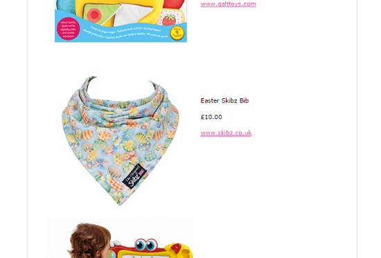 Non chocolate easter gifts skibz easter gifts for babies in essex baby chocolate negle Gallery