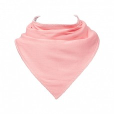 Skibz Essentials Dribble Bib, Pale Pink