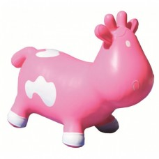 Kidzzfarm Inflatable Hopper, Pink & White Betsy