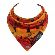 Limited Edition Made in Britain Skibz Bib, Halloween