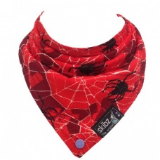 Limited Edition Made in Britain Skibz Bib, Spooky Spider