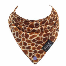 Limited Edition Made in Britain Skibz Bib, Funky Giraffe