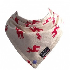 Limited Edition Made in Britain Skibz Bib, Rudy Red
