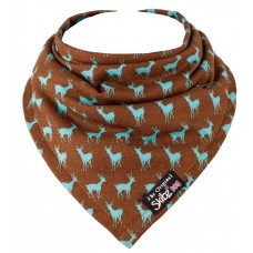 Limited Edition Made in Britain Skibz Bib, Festive Deer