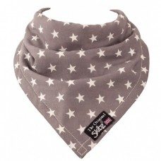 Skibz Original Bandana Bib, Grey Star