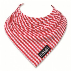 Skibz Original Bandana Bib, Red Gingham
