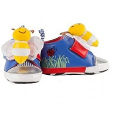 Playtoes Interactive Baby Shoes, Bumble Bee