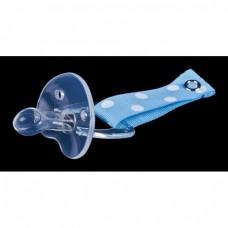 Skibz Pop-itz Suckerz Bib Accessory, Blue Soother