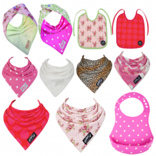 The Ultimate 11 pack of Baby Girls Skibz Bib Collection.