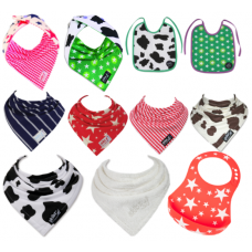 The Ultimate 11 pack of Baby Unisex Skibz Bib Collection.